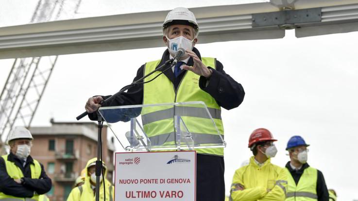 Il Ponte di Genova sarà inaugurato il 3 agosto