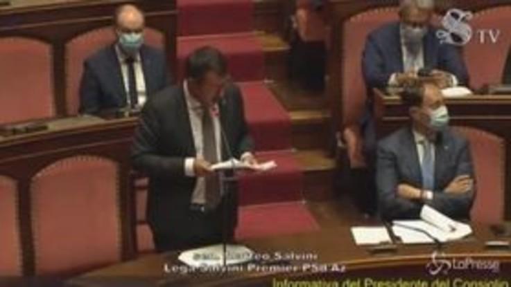 """Piacenza, Salvini: """"Chi sbaglia paga ma nessuno infanghi chi indossa divisa"""""""