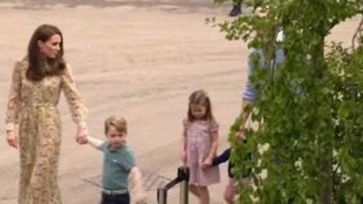 Gran Bretagna, il principino George compie 7 anni