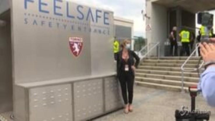Coronavirus, il Torino sperimenta la tecnologia 'Feel Safe' per tornare allo stadio in sicurezza