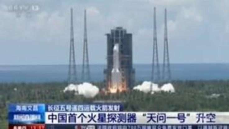 Spazio: lanciata la sonda cinese per Marte