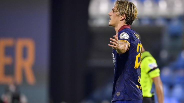 Calcio, la Roma affonda la Spal con sei reti. E Zaniolo ci mette la firma