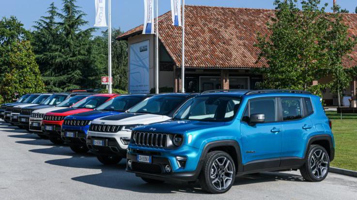 Fca, Renegade e Compass 4xe: Jeep entra nel mondo dell'elettrificazione