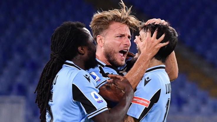 La Lazio ribalta il Cagliari con Milinkovic e Immobile e blinda 4° posto