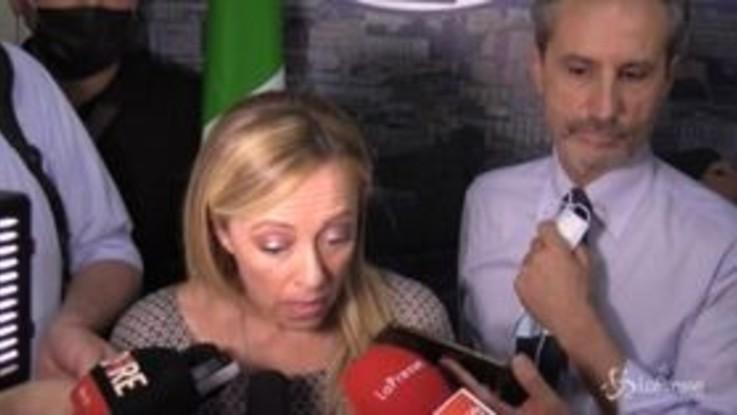 "Recovery Fund, Meloni: ""Se Ue imporrà macelleria sociale noi faremo le barricate"""