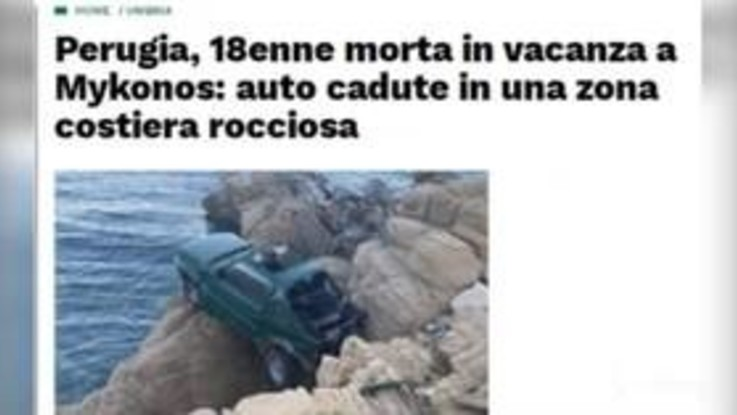 Mykonos, 18enne muore in incidente stradale