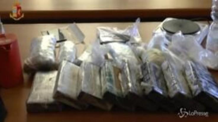 Varese, blitz anti spaccio: 3 arresti, sequestrati oltre 12 chili di droga