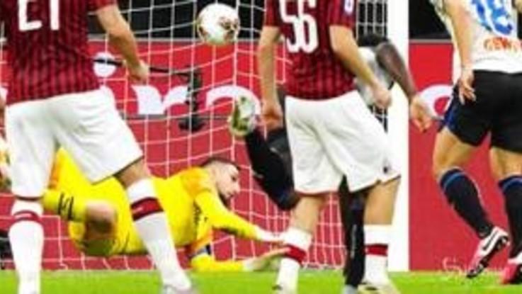 Serie A: 1-1 tra Milan e Atalanta