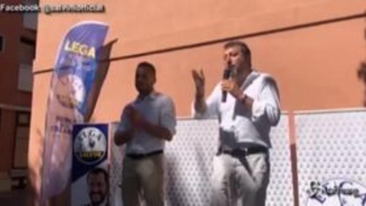"""Fontana indagato, Salvini: """"Una schifezza, giustizia alla Palamara"""""""