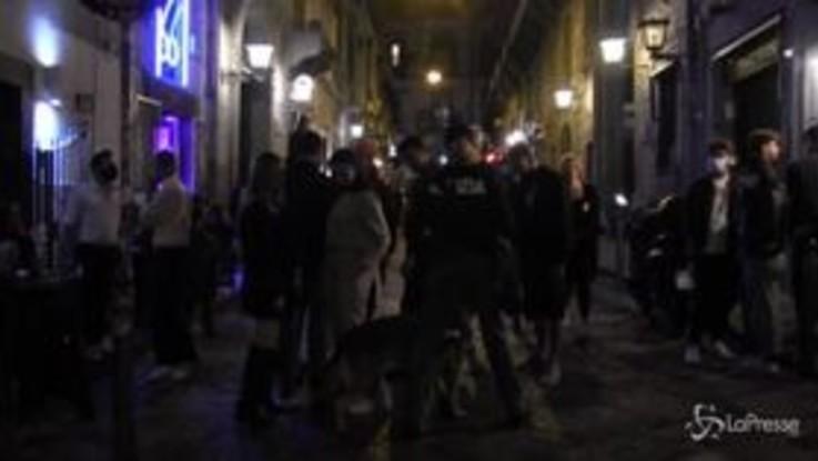 Salerno, prime tre multe da mille euro