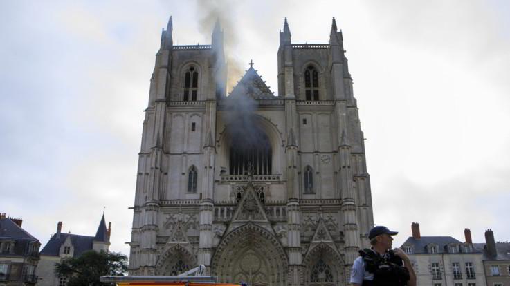 Nantes, volontario ammette di aver appiccato l'incendio alla cattedrale