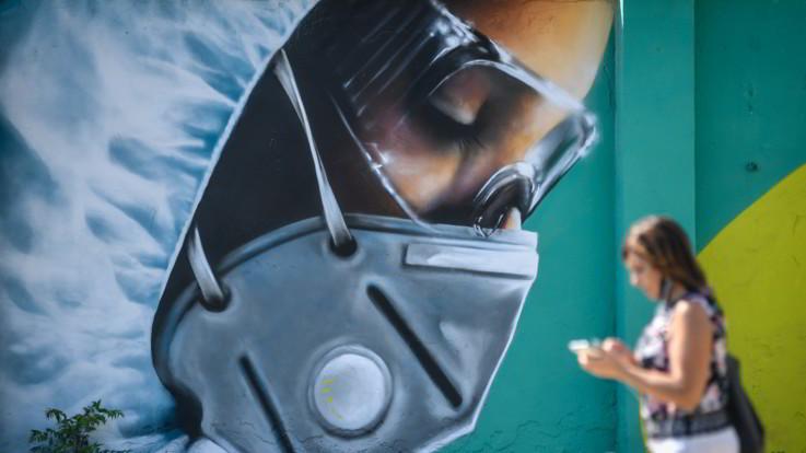 Coronavirus, stabile il numero di contagiati e decessi in Italia