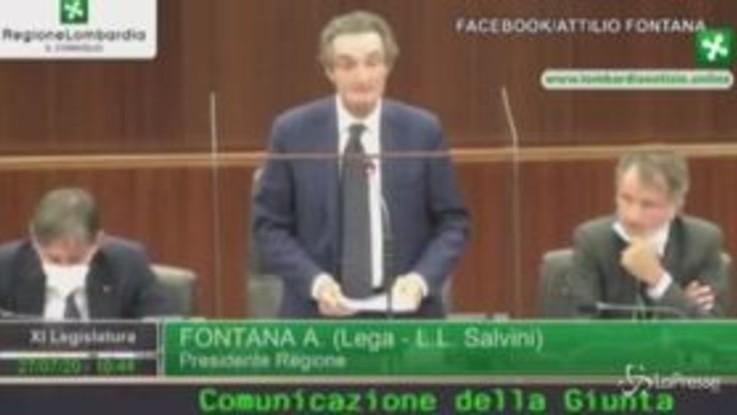 Camici Lombardia, Fontana: Polemiche sterili, voltare pagina