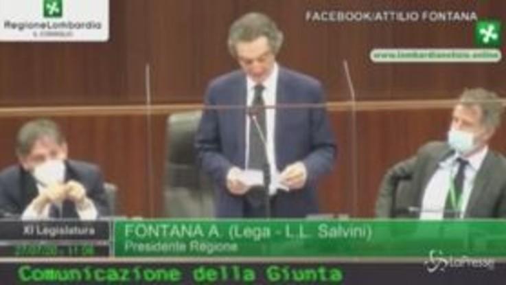 """Camici Lombardia, Fontana: """"Non tollero dubbi su mia integrità. La Regione non ha speso un euro"""""""