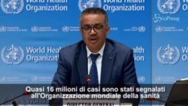 "Coronavirus, Oms: ""Pandemia accelera, casi raddoppiati in sei settimane"""