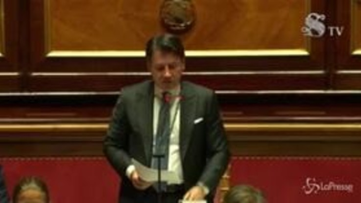 """Conte al Senato: """"Proroga stato emergenza inevitabile"""""""