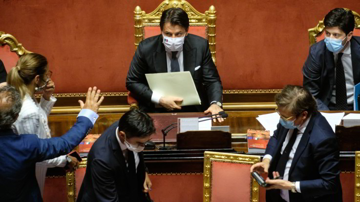 Conte incassa sì Senato a proroga stato emergenza al 15/10: Scelta inevitabile