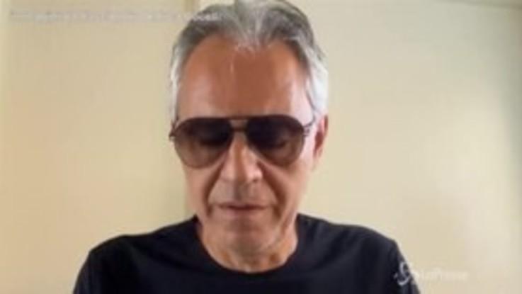 """Bocelli: """"Chiedo sinceramente scusa per le mie parole sul Covid"""""""