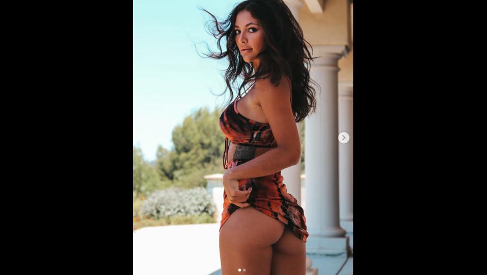 la modella Gabriella Abutbol (fonte Instagram) ©