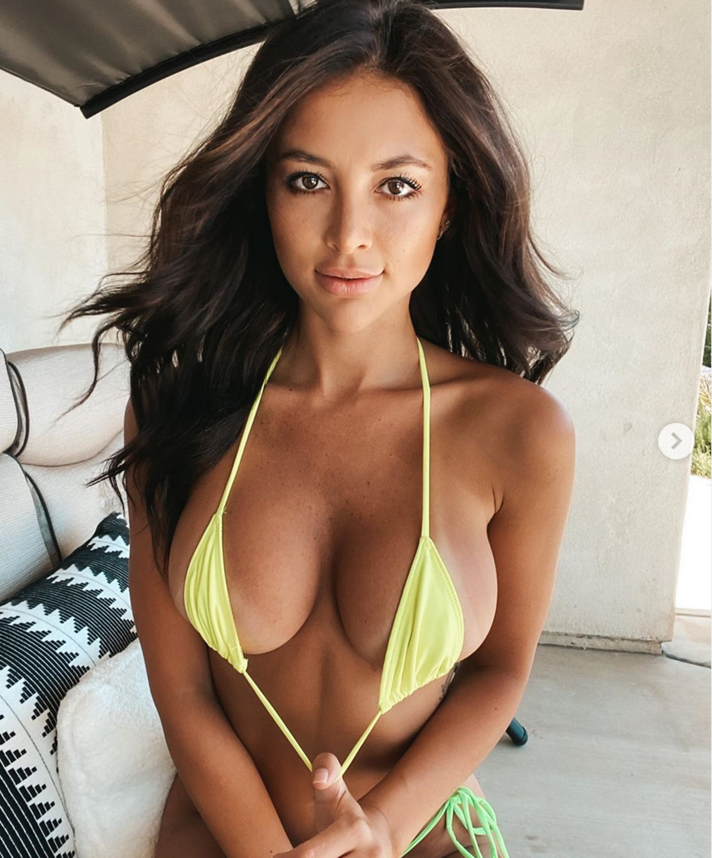 Sexy-instagram, Gabriella Abutbol, la ragazza della porta accanto (con un corpo da bomba sexy)