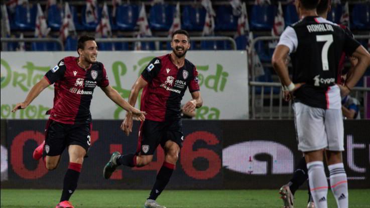 Cagliari sorprende la Juve: Gagliano e Simeone firmano impresa