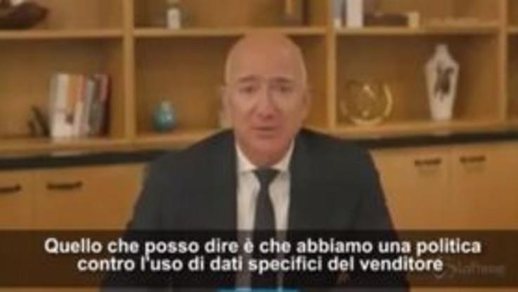 """Il numero uno Amazon davanti al Congresso, Bezos: """"Violazioni concorrenza? Non posso escluderle"""""""