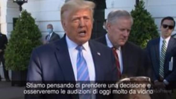 """Trump minaccia nuovamente TikTok: """"Stiamo valutando"""""""