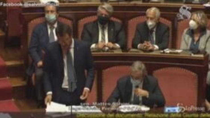 """Open Arms, Salvini: """"Andrò fino in fondo senza chiedere aiutini a nessuno"""""""