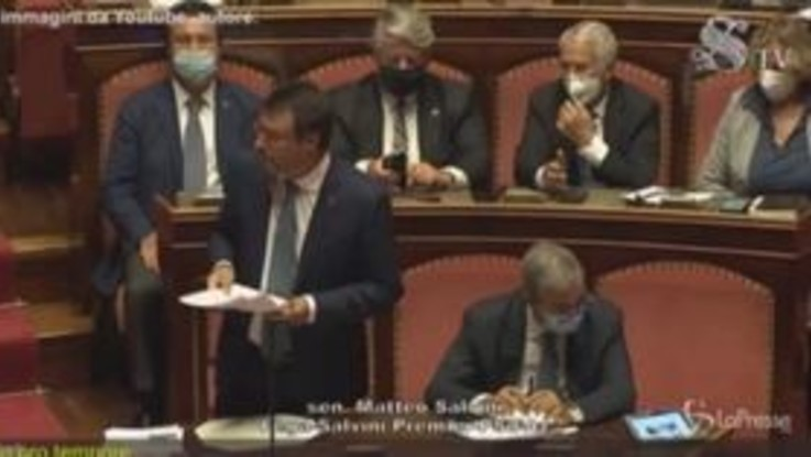 """Open Arms, Salvini: """"Grazie a chi mi manda a processo, mi fa gran regalo"""""""