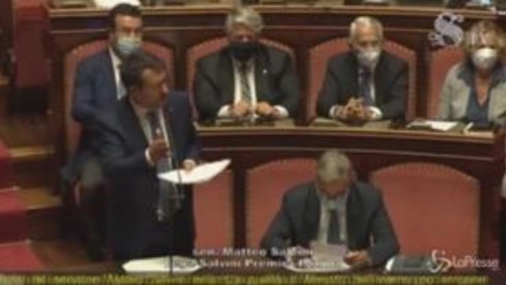 Open Arms: ok del Senato al processo nei confronti di Salvini