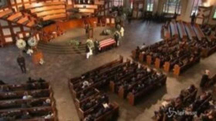 Usa, addio a John Lewis: funerali ad Atlanta