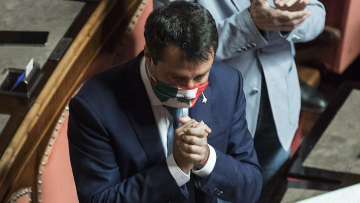 Salvini a processo per Open Arms: Io a testa alta. Iv vota con la maggioranza