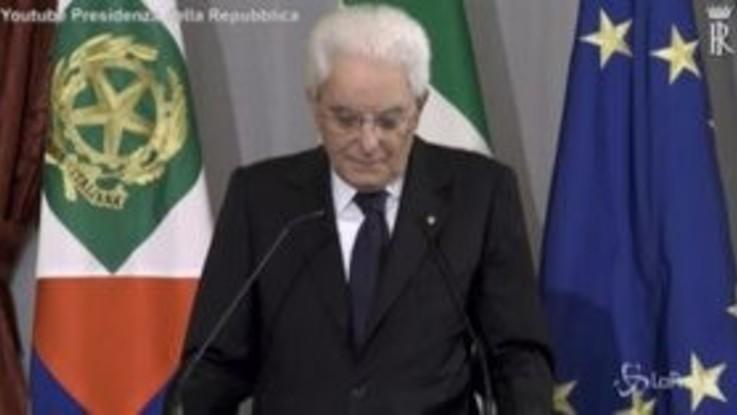 """Mattarella: """"La libertà di stampa attiene alla libertà delle persone"""""""