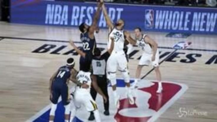 Basket: riparte l'Nba dopo lo stop per il covid