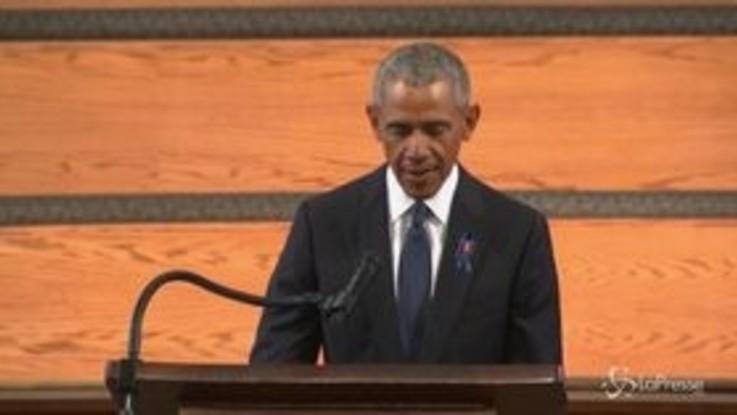 """Elezioni Usa, Obama: """"C'è chi fa di tutto per scoraggiare il voto"""""""