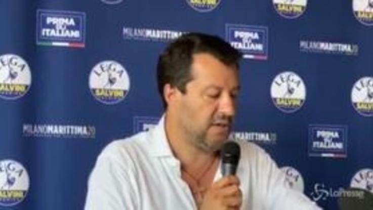 """Open Arms, Salvini: """"Spero di non trovare un Palamara a processo"""""""