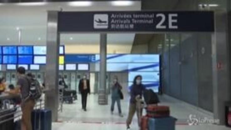 Francia, al via i test per i viaggiatori che arrivano nel Paese