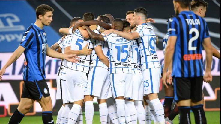 Inter espugna di forza il campo dell'Atalanta e chiude seconda alle spalle della Juve