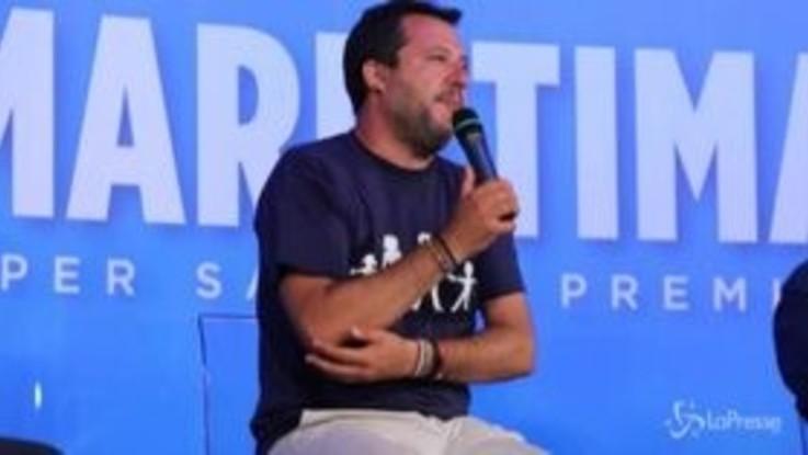 """Santa Sofia moschea, Salvini: """"Si inizia con Istanbul, poi tocca ad Atene e poi l'Italia"""""""