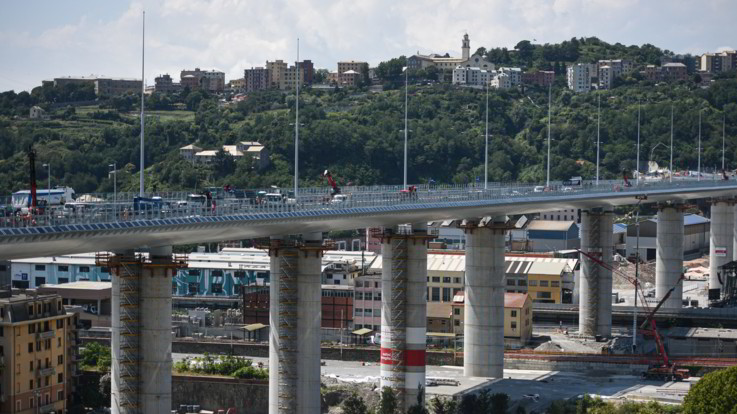 """Ponte Genova oggi l'inaugurazione. Conte: """"Simbolo dell'Italia che si rialza"""""""