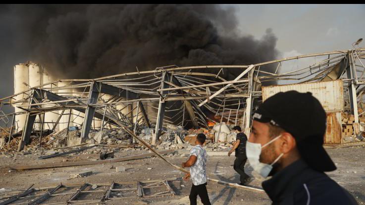 Libano, allarme tossine: esplose oltre 2700 tonnellate nitrato ammonio