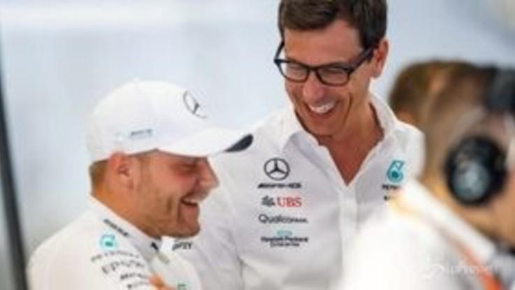 F1, Bottas in Mercedes anche nel 2021