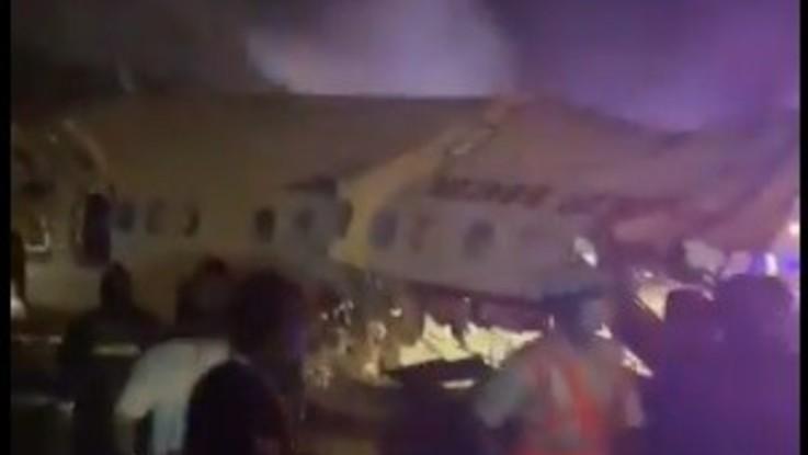 India, aereo con 191 passeggeri esce di pista: morti e feriti