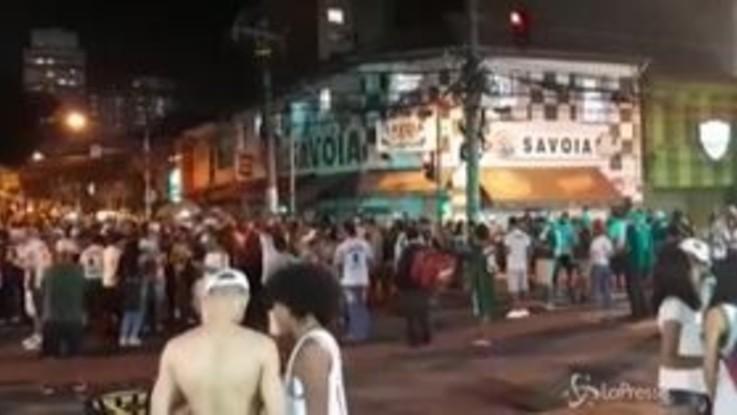 Coronavirus, folla a San Paolo per la vittoria del Palmeiras