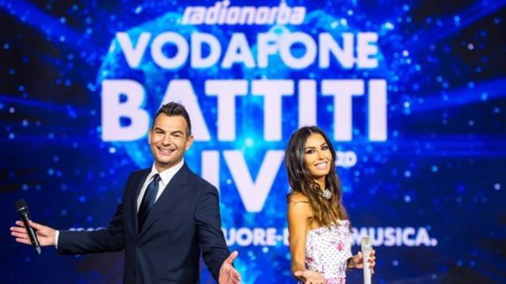 Lunedì in prima serata su Italia 1 'Radionorba Vodafone Battiti Live'
