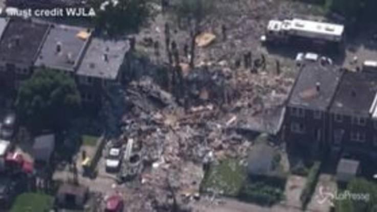 Usa, esplosione a Baltimora: un morto e diversi feriti