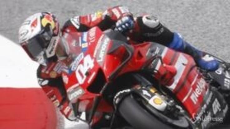 MotoGP, in Austria trionfa Dovizioso. Rossi 5° dopo lo spavento