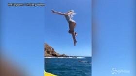 Sexy Instagram: Tuffo in acqua, sfilata e ballo sexy: Lindsey Vonn è più spettacolare che mai