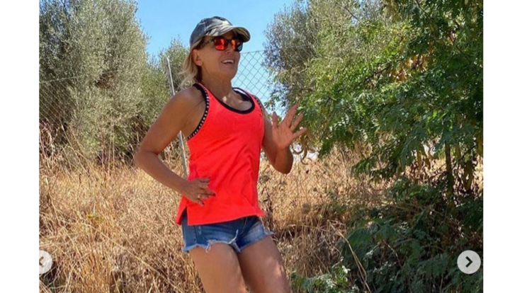 Barbara D'Urso in forma strepitosa con la corsa mattutina