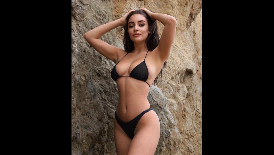 la modella Ella Orten (fonte Instagram) ©